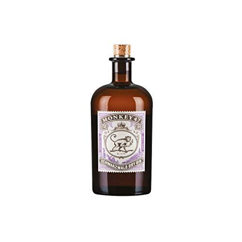 Monkey 47 Schwarzwald Dry Gin – Harmonischer Gin mit Wacholderaroma & frischen Zitronen- und...