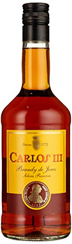 Carlos III, Solera Reserva Brandy de Jerez, Bodegas Osborne, Brandy (1 x 0.7 l)