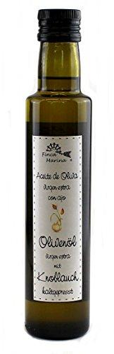 Knoblauchöl - Olivenöl mit Knoblauch 250ml aus der Finca Marina Gewürzmanufaktur
