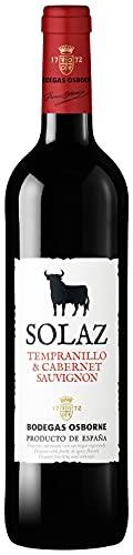 Osborne Solaz Tempranillo & Cabernet Sauvignon Trocken (1 x 0,75l) - Fruchtiger Rotwein aus der...