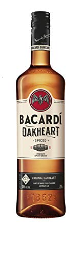 Bacardi Oakheart Spiced Rumspirituose (1 x 0.7 l)
