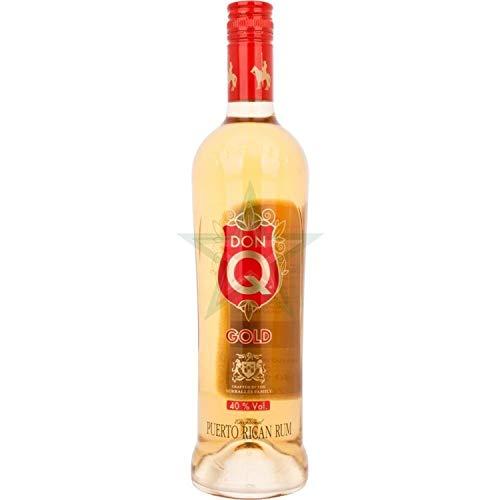Don Q GOLD Puerto Rican Premium Rum 40,00% 0,70 Liter