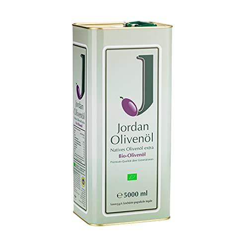 Jordan BIO-Olivenöl - Natives Olivenöl Extra von der griechischen Insel Lesbos - traditionelle...