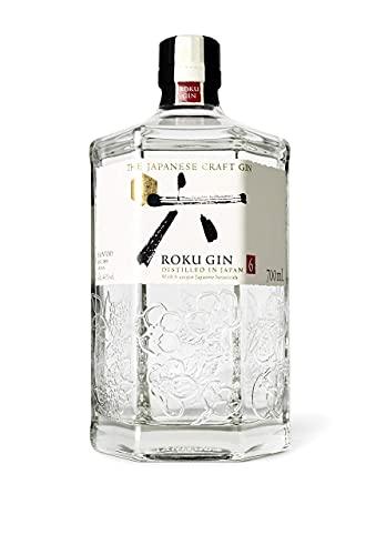 Roku The Japanese Craft Gin - 6 japanische Botanicals für einen perfekt ausbalancierten Geschmack,...