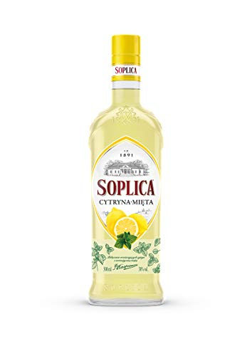 Soplica Zitronen-Minze Likör/Cytryna-Mieta Früchte (1 x 0.5l)