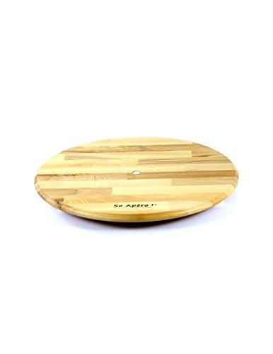Tablett für Käse oder Tapas, drehbar, groß, hergestellt in Frankreich