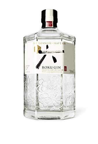 Roku The Japanese Craft Gin 43% (1 x 0,7 l) - 6 japanische Botanicals für einen perfekt...