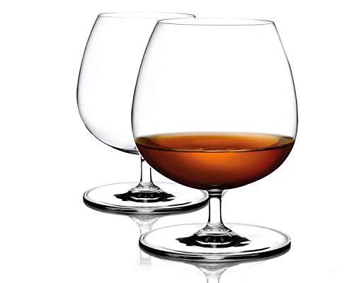 Cognacgläser aus Kristallglas (500ml groß und spülmaschinenfest) Brandyglas Cognacschwenker...