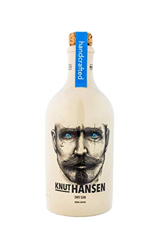 KNUT HANSEN DRY GIN – handcrafted Gin nach klassisch nordischer Art, mit Wacholder, Gurke,...