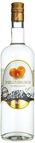 DOLOMITI Marillen Edelbrand 40% vol. | Marillenbrand | Obstbrand aus fruchtigen Marillen | 1 x 1...