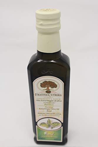 Olivenöl mit Basilikum 250 ml | Frantoi Cutrera