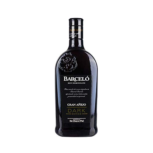 Premium Brauner Rum aus der Dominikanischen Republik, 6 Jahre gelagert, 37,5% vol, Flasche 700ml -...