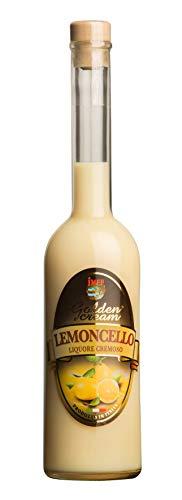 Distilleria Jannamico Golden Cream Limoncello - Zitronenlikör - Cremiger Likör aus Limoncello und...