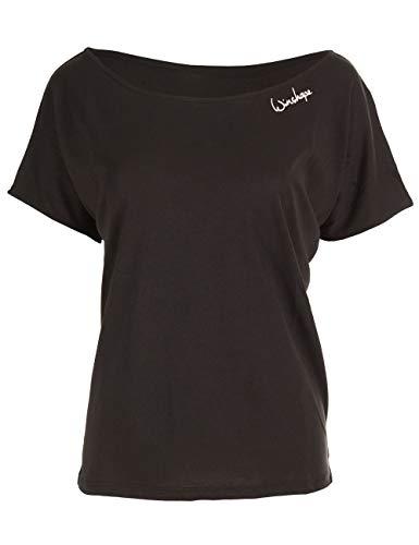 Winshape Damen Ultra leichtes Modal-Kurzarmshirt MCT002, Dance Style,Fitness Freizeit Sport Yoga...