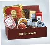 Schinken-Wurst-Tee-Präsent Ammerland -Rot-
