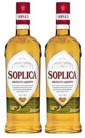 2 Flaschen Soplica Haselnuss/Orzech Laskowy Likör aus Polen a 0,5L 30% Vol. (2 x 0.5L)