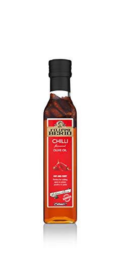 Filippo Berio Chili Extra natives Olivenöl, 250 ml