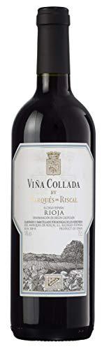 Marqués de Riscal Viña Collada – Trockener Rotwein aus der Region Rioja in Spanien (1 x 0,75l)