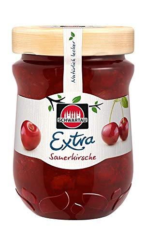 Schwartau Extra Sauerkirsche, Konfitüre, 8er Pack (8 x 340 g)