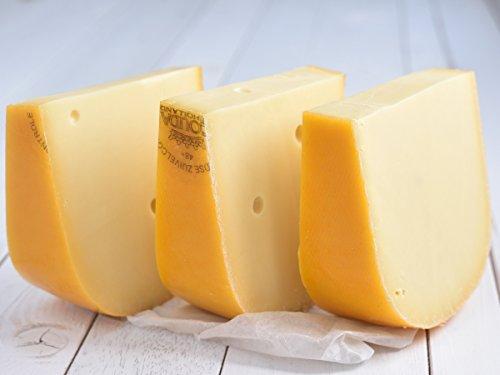 Käse Basics 'Gouda Jung - aus Holland' VORTEILSPACK 3x 500g Stück junger Gouda (lange Haltbarkeit...
