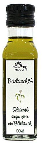 Bärlauchöl - Olivenöl mit Bärlauch 100ml aus der Finca Marina Gewürzmanufaktur