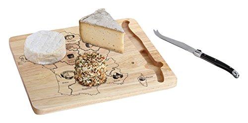 Kitchen Artist MEN353 Käseplatte aus Frankreich, Braun