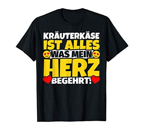 Kräuterkäse Geschenke für Kräuterkäse-Liebhaber T-Shirt