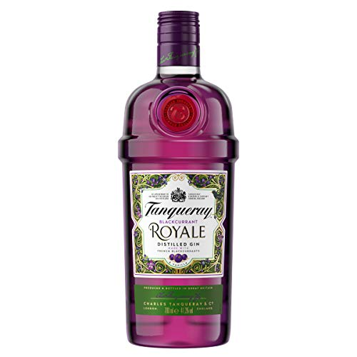 Tanqueray Blackcurrant Royale Distilled Gin – Ideale Spirituose für Cocktails oder Gin Tonic –...