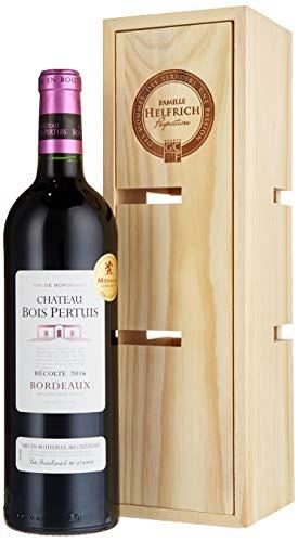 Famille Helfrich, Geschenkset, Château Bois Pertuis in Holzkiste verwandelbar zu einem Weinregal,...