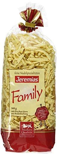 Jeremias Spätzle geschabt, Family Frischei-Nudeln, 4er Pack (4 x 500 g Beutel)