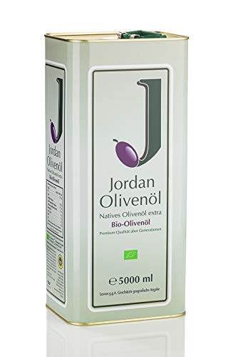 Jordan BIO-Olivenöl - Kanister 5,00 Liter / DE-ÖKO-037