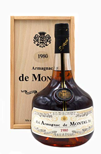 Rarität: Armagnac de Montal 0,7l Jahrgang 1980