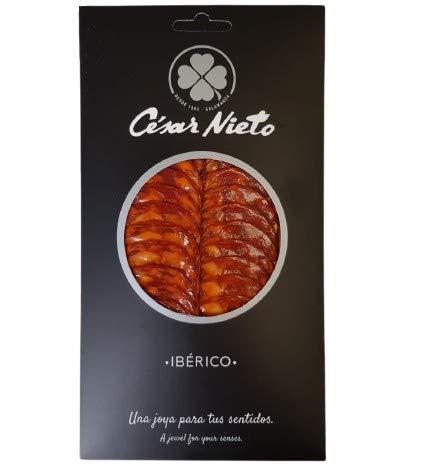 Iberische Chorizo-Wurst in Scheiben aus Guijuelo - Cesar Nieto - 100g
