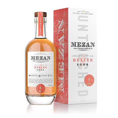 Mezan Single Distillery Rum BELIZE 2008 Rum (1 x 0.7 l )
