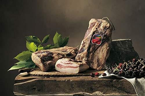 Angebot! ca 1kg Italienische Guanciale di Sauris - Schweinebacke leicht gräuchert und...