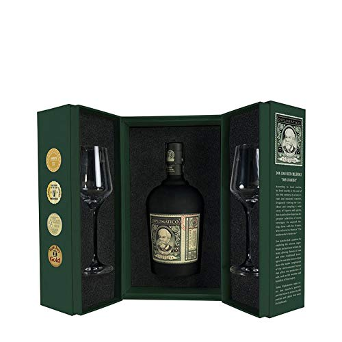 Diplomático Botucal Reserva Exclusiva Perfect Serve RITUAL Set Geschenk - Box 0,7 Liter + 2...