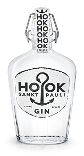 HOOK Gin / kräftiger Dry Gin direkt aus Hamburg Sankt Pauli mit 6 klassischen Zutaten - stark wie...