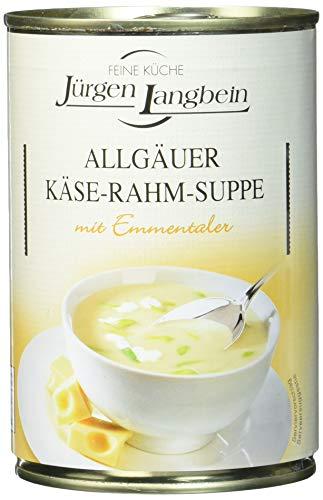 Jürgen Langbein Allgäuer Käse-Rahm-Suppe, 6er Pack (6 x 400 ml)