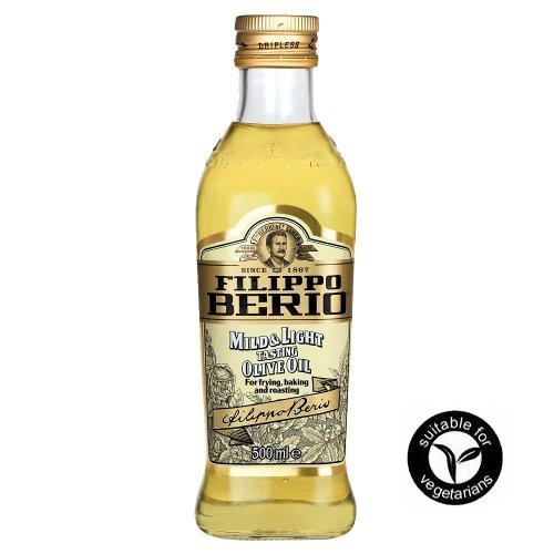 Filippo Berio MILD & LIGHT Olivenöl 500ml - die gesündere Art zu Kochen
