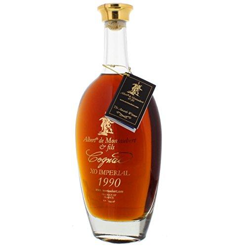 Cognac 1990 - Jahrgangscognac Albert de Montaubert 1990