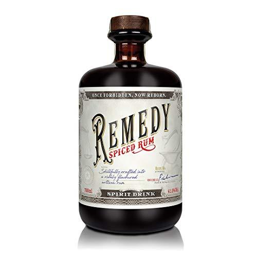 Remedy Rum Spiced Rum (1 x 0,7 l) - Gold Meinigers International Spirits Award 2019 - Feine Noten...