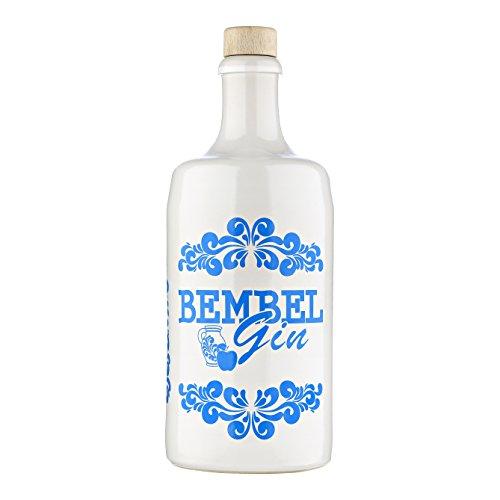 Bembel Gin 700ml Apfel Gin aus Hessen mit fruchtigem Apfel und Zitrone in traditionellem Steinkrug I...