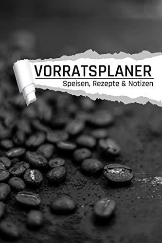 Vorratsplaner: Kaffeebohnen I Vorräte einlagern Notreserven planen I Praktische Liste für...