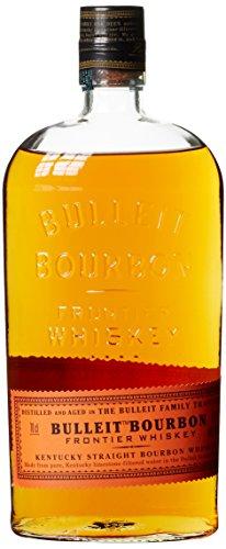 Bulleit Bourbon Frontier Whiskey, High Rye Whiskey gebrannt und gereift nach der Kentucky Tradition,...