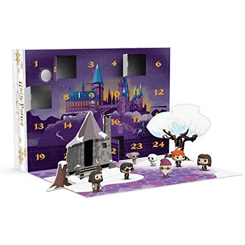 Funko 34947 POP Advent Calendar Potter-24 Piece Harry Potter Sammelbares Spielzeug, Mehrfarben