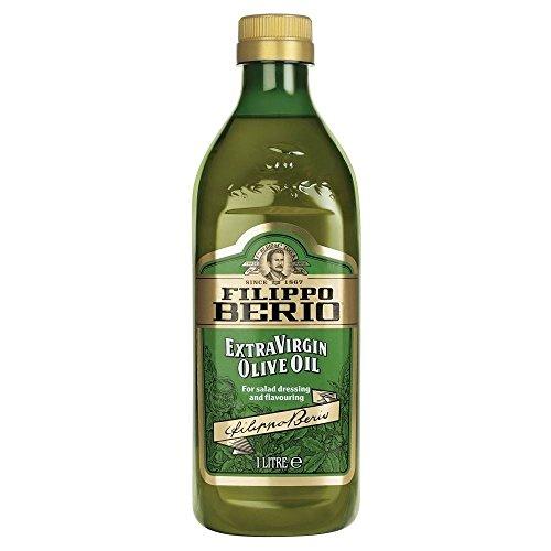 Filippo Berio Natives Olivenöl Extra (1 l) - Packung mit 6