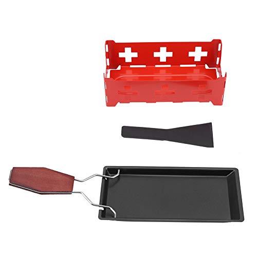 Käse Raclette, tragbare Antihaft-Käse Raclette Rotaster Backblech Herd Set Home Küche...