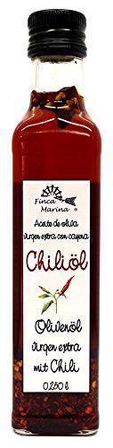 Chiliöl 250ml aus der Finca Marina Gewürzmanufaktur