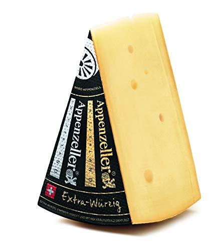 Appenzeller Käse 500g Extra EXTRA WÜRZIG Schweizer Käse KÜHLBOX-Versand mit Styroporbox und...