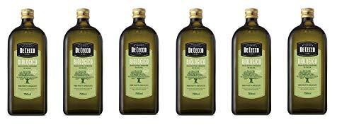 6x De Cecco Biologico Olio Extra Vergine Di Oliva Bio-Öl Natives Olivenöl Extra für delikate...